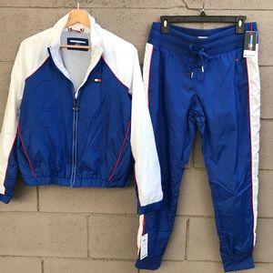 Tommy Hilfiger windbreaker jogging suit NWT